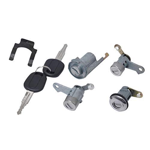 Baosity Door Lock Cylinder Set 2 Keys Fits Fit Buick Excelle 2007-2012