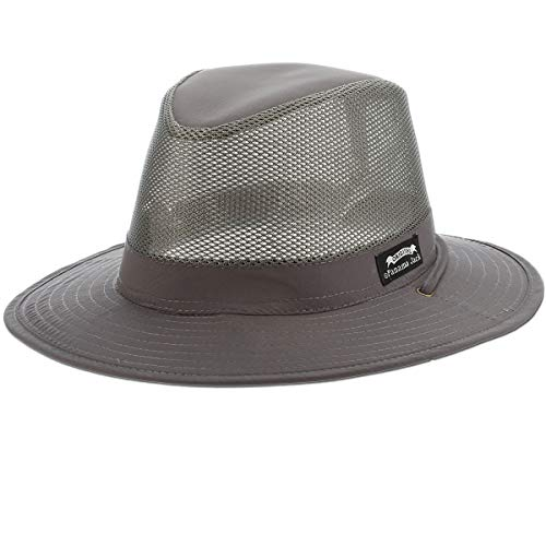 (Panama Jack Nylon/Mesh Safari Hat - Lightweight, UPF (SPF) 50+ Sun Protection, 2 1/2