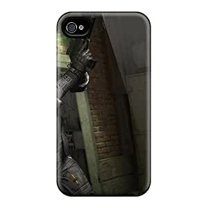 For Iphone 4/4s Premium Tpu Case Cover Splinter Cell Blacklist Spy Protective Case by lolosakes
