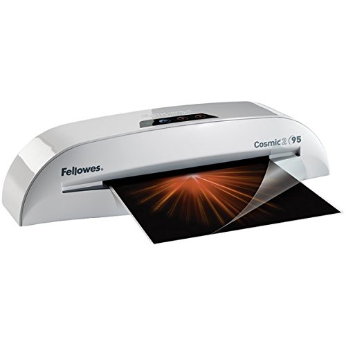 FELLOWES 5725601 Cosmic2 95 Laminator with Pouch Starter Kit