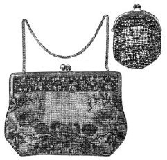 - 1913 Beaded Bag & Coin Purse Sewing Pattern