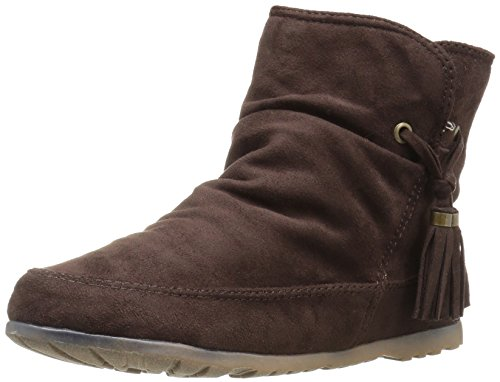 Rock & Candy Women's Snowball Ankle Bootie - Brown Fabric...