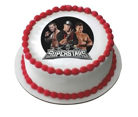 Pleasing Wwe Cake Toppers Shop Wwe Cake Toppers Online Personalised Birthday Cards Cominlily Jamesorg