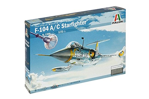 Italeri 1359 - F-104 A/C Starfighter Model Kit Scala 1:72 510001359