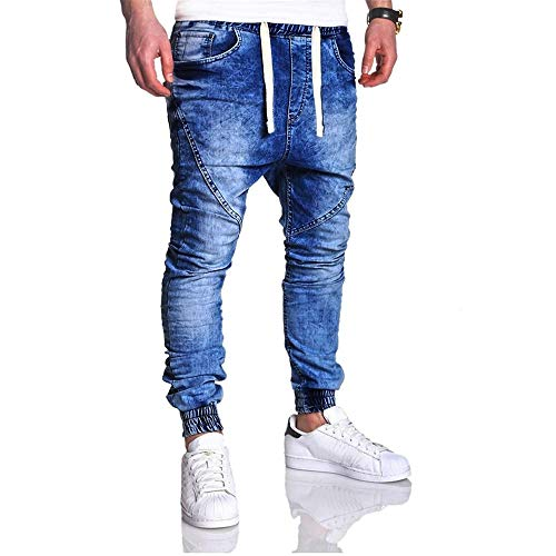 Force Size Havanadd Fuselée Gray Jambe Droite Denim Modern En Extrême Série M Hommes Blue Élastique Pantalons color Pour À Coupe WTOTnFq