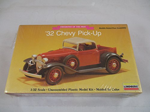Lindberg 1932 Chevy Pick-Up Favorites Of The Past Model Kit 1:32 Scale - 1932 Chevy Pickup