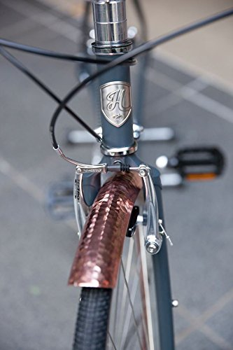 Handsome Cycles Copper Hammered Aluminum Bicycle Fenders 700c