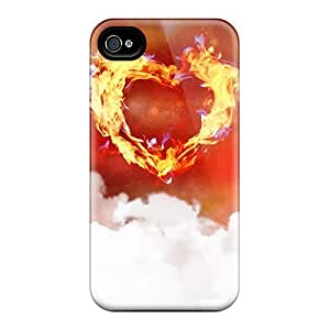Hot Tpye One Love Heart Case Cover For Iphone 5/5s