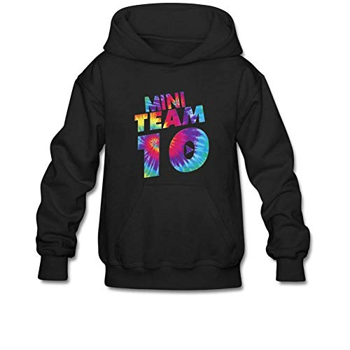 navely Men Jake Paul Team 10 Hoodies Merch Cotton Sweatshirt Clothes for Men Teen Boys Sweatshirts Hoodie with Pockets Black M