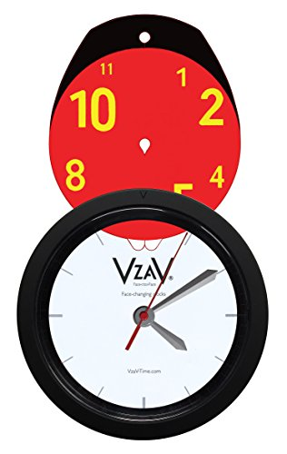 V-ZA-V Face Changing Clock