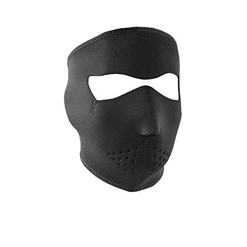 ZANheadgear Black Neoprene Face Mask