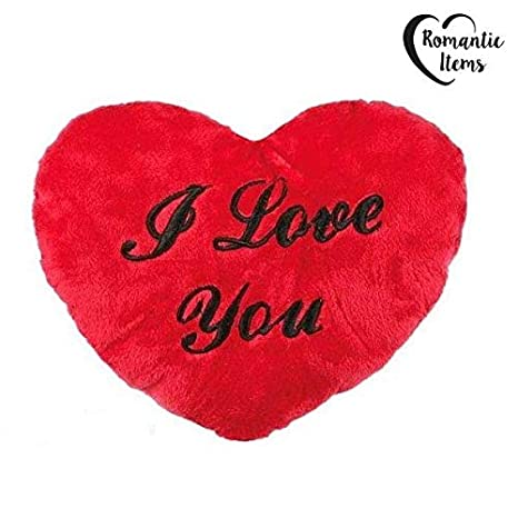 Amazon.com: XXL 23.6 inch peluche suave I Love You Corazón ...