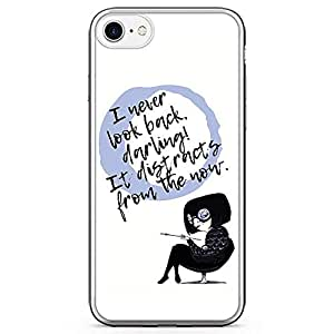 Loud UniverSE Incredibles Edna iPhone 7 CaSE Edna Quote iPhone 7 Cover with Transparent Edges