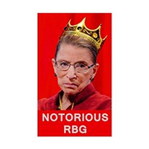 CafePress - Notorious RBG - Rectangle Bumper Sticker Car - Doma Design