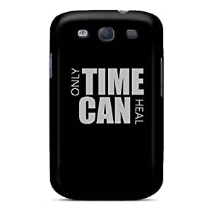 Galaxy High Quality Tpu Case/ Time Can Heal HCYco8768uwvUF Case Cover For Galaxy S3