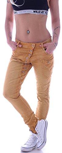 Donna Cavallo Jeans station Style Senape Basso wqTzqxB