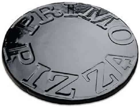Primo 338 Porcelain Glazed Pizza Baking Stone for Primo Oval XL or Kamado Grill
