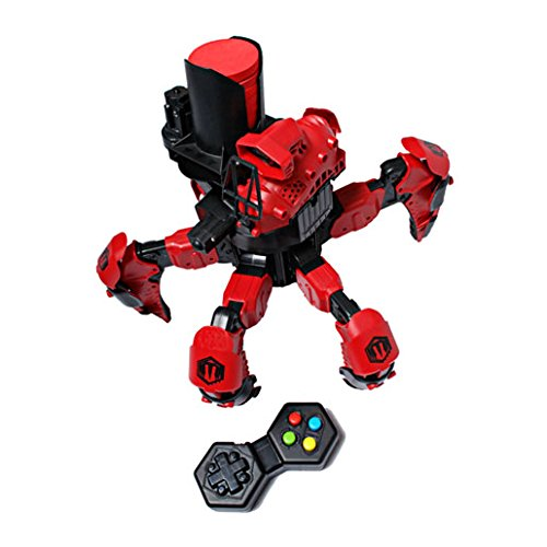Combat Creatures Attacknid MK1 Battling Spider Toy Robot with Remote Control, Ultra Controllable Disc-Firing Weapon System, 6-Legged Robotics with Advanced All-Terrain Handling by Combat Creatures (Image #3)