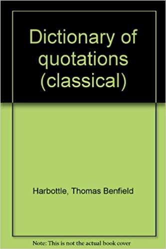 Audiolibros gratis descargar mp3Dictionary of quotations (classical) ePub by Thomas Benfield Harbottle