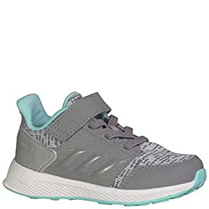 adidas RapidaRun Lux Infant Aqua/Grey Infant Shoes 10