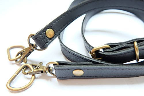 Somjai P050 PVC Strap Shoulder Bag Black Color Width 1.50 cm. Length 117 - Tower Water Address