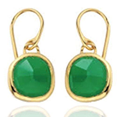 Earrings Green Onyx (green onyx Earring)