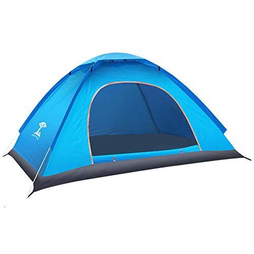 グリーンランド振る拍車DreamYS テント 2人用 サンシェードテント 折りたたみ アウトドア用品 キャンプ タープ ポップアップ 大空間 軽量 防水 設営簡単 紫外線防止 キャンプ 海 花見 運動会 登山用 (グリーン/シングルドア)
