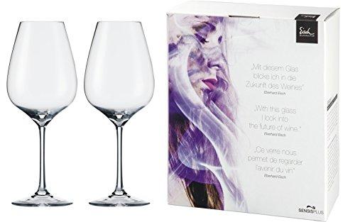 Eisch Superior Petite Syrah Sensis Plus Lead-Free Crystal Wine Glass, Set of 2, 21-Ounce (Petite Syrah Wine)