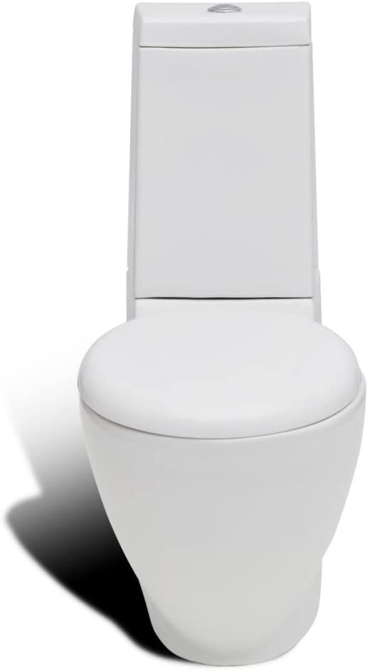 UBAYMAX - Juego de inodoro y bidé (cerámica), color blanco: Amazon.es: Bricolaje y herramientas