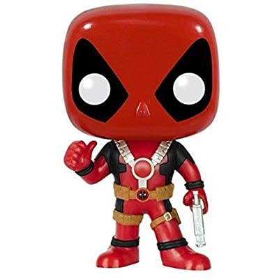 Funko POP Marvel: Deadpool Thumbs Up Action Figure: Funko Pop! Marvel:: Toys & Games