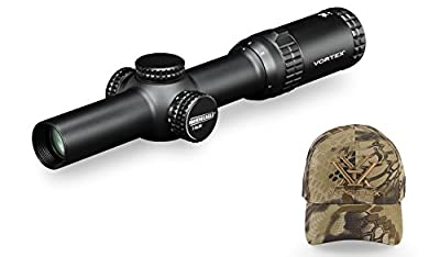 Vortex Optics SE-1624-1 Strike Eagle 1-6x24 AR-BDC w/ Vortex Optics Hat (Colors May Vary) from Vortex Optics