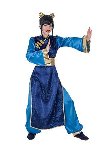 Banyant Toys Disfraz China Azul Mujer: S