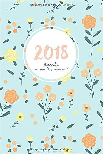 Agenda 2018 semanal y mensual: Calendario/Planificador y ...