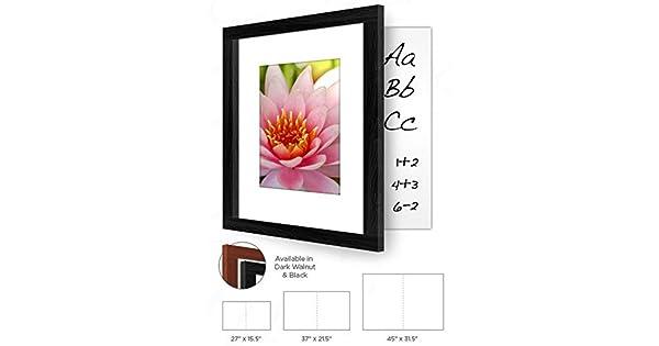 Amazon.com: La pizarrón de Hidden – 45 x 31,5, dorado Pecan ...