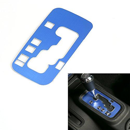 RT-TCZ Gear Shift Panel Decoration Cover Trim Stickers Car Interior Accessories for Jeep Wrangler JK JKU Rubicon Sahara Sport 2/4 Door 2012-2018