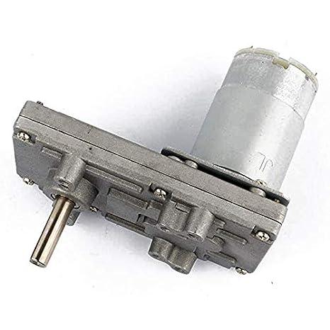KinshopS Motoriduttore per Ingranaggi in Metallo 12V-24V TAKANAWA 555