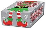 Festive Elf Design Cardboard Christmas Eve Box | Gift Wrap Supplies