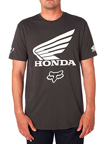 Fox Racing Honda Premium T-Shirt-Black Vintage-XL -