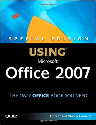 Special edition using microsoft office 2007 ed bott woody leonard special edition using microsoft office 2007 ed bott woody leonard 9780789735171 amazon books fandeluxe Image collections