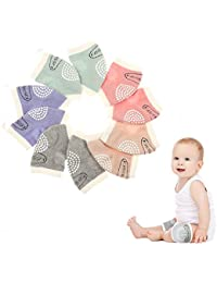 Baby Knee Pads Cotton Baby Crawling Knee Pads for...
