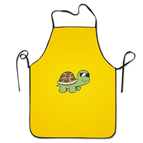 Turtle Sunglasses Neck Bib Apron For Women And Men - Adjustable Neck Strap - Restaurant Home Kitchen Apron Bib For Cooking, Grill And Baking, Crafting, Gardening, - Woman Zara Sunglasses