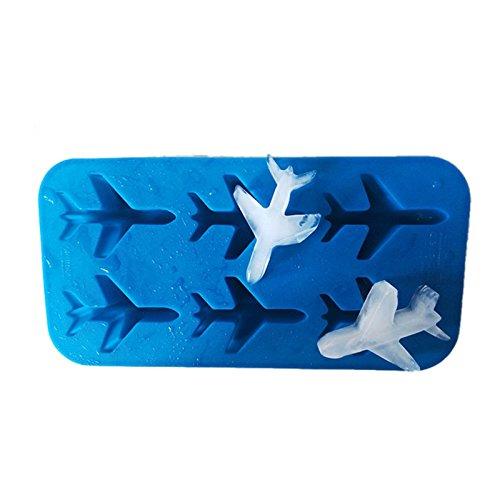 PlenTree 3d plane fondant chocolate mold cube molds for ball maker cake decorating