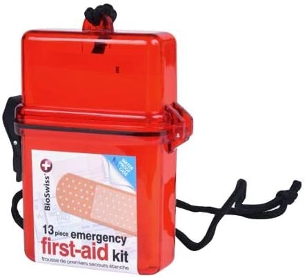 Waterproof First Aid Kit All-Purpose Portable Compact First Aid Kit for Minor Cuts, Scrapes, Sprains & Burns, Ideal for Home, Car, Travel and Outdoor Emergencies