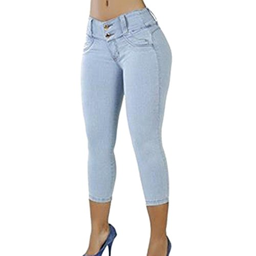 skinny blanc 4 Jeans fit filles pour bleu pantalon stretch basse slim t pantalon Bleu jeans fonc clair A femmes 3 lady noir butt fit taille longueur lifting bleu rRRxXqwZA