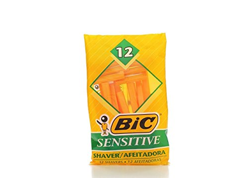BIC Sensitive Single Blade Shaver, 36 Count