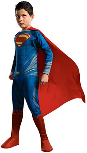 Man of Steel Superman Children's Costume, Large