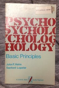 Psychology: The Basic Principles (A Littlefield, Adams quality paperback ; no. 324)