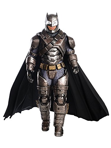 Rubie's Men's Batman v Superman: Dawn of Justice Supreme Edition Armored Batman, Black, -