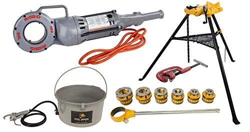 RIDGID 700 Power Drive, 418 Oiler, 2-A Cutter, 460 Chain Vise & 12-R Threader