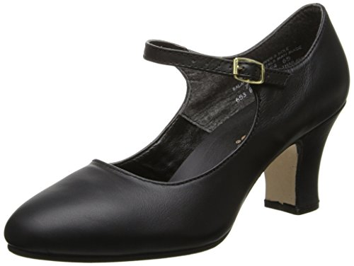 Capezio Women's Manhattan Character Shoe,Black,7 M US